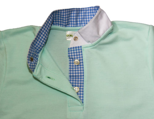 Verde Vichy azul ella
